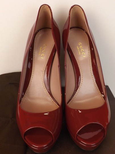 Gucci TIBET/Red Pumps Image 5