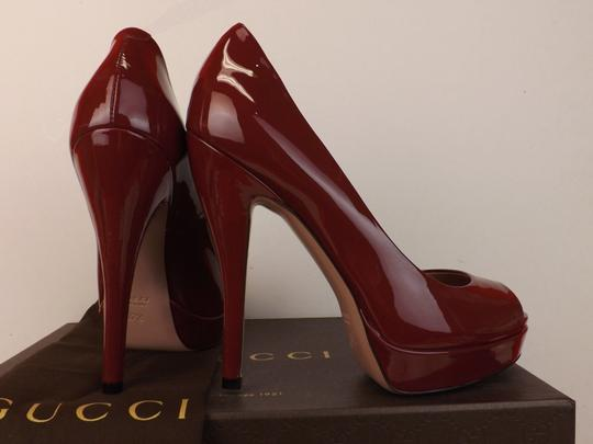 Gucci TIBET/Red Pumps Image 7