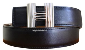 Hermès Constance 32MM/80CM Reversible Hermes Belt Kit Silver Buckle