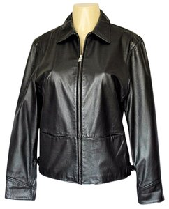 Ralph Lauren Leather Riding black Leather Jacket
