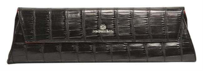 Domenico Vacca Black Alligator Clutch Domenico Vacca Black Alligator Clutch Image 1