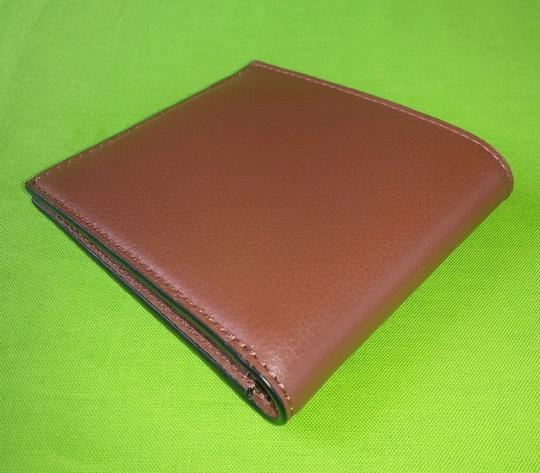 Coach Coach F75084 Double Billfold Sport Calf Leather Saddle Wallet F75084 Image 2