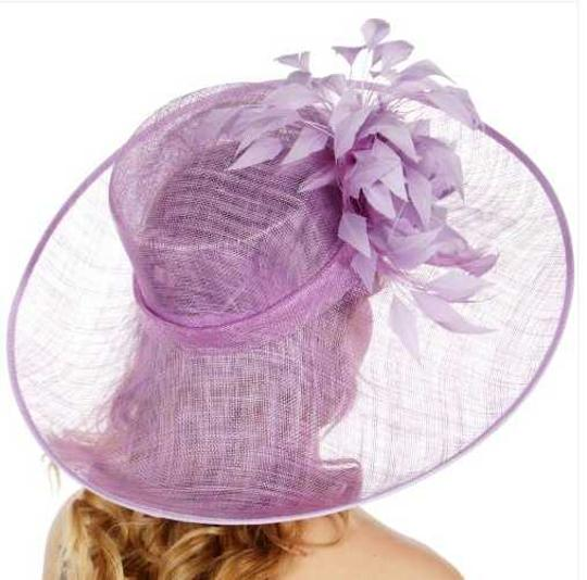 kentucky derby hat Formal Flower Sinamay Hat Kentucky Derby Dressy Church Image 2