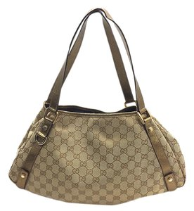 Gucci Abbey Hawaii Exclusive Tote in Gold and brown