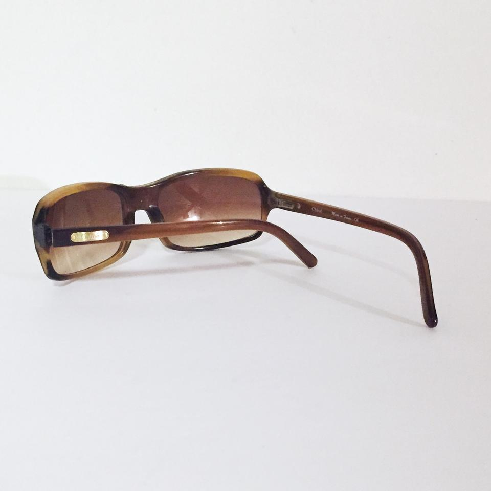 88c2a90eeb27 Chloé chloe vintage sunglasses with case CL 2114 light brown tortoise Image  7. 12345678