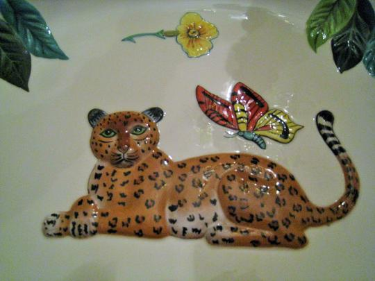 Lynn Chase Lynn Chase Jungle Jubilee Large Oval Platter sold by Neiman Marcus