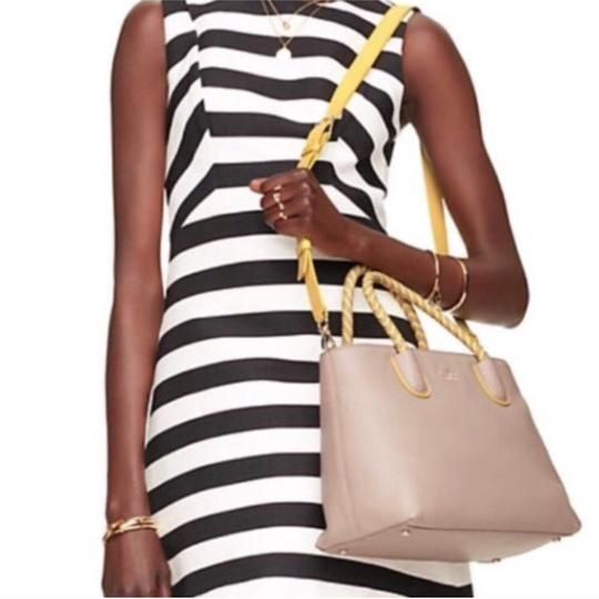 Kate Spade Satchel in Taupe & Yellow Image 1
