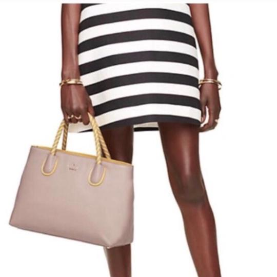 Kate Spade Satchel in Taupe & Yellow Image 2