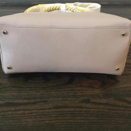 Kate Spade Satchel in Taupe & Yellow Image 7