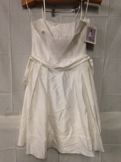 Wtoo Off White Bridesmaid/Mob Dress Size 8 (M)