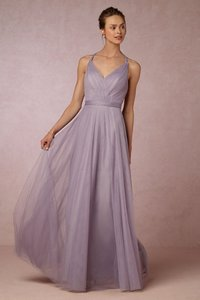 BHLDN Lilac Grey Zaria Dress