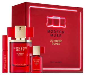 Estée Lauder Estee Lauder Modern Muse Le Rouge Gloss Sprays & Lip Lacquer 3PC Set