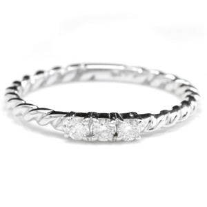 Other Splendid .15 Carats Natural Diamond 14K Solid White Gold Ring