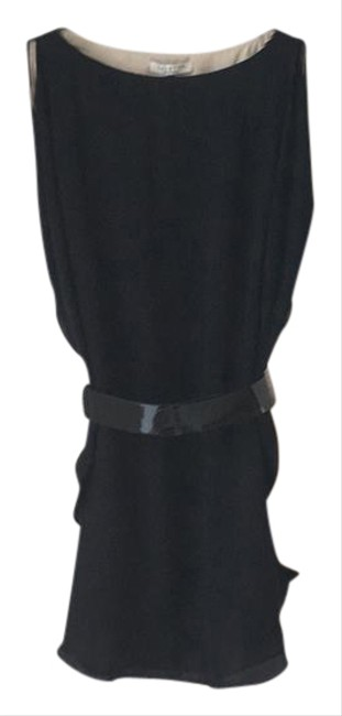 Item - Black with Beige Heritage Short Night Out Dress Size 2 (XS)