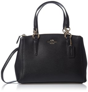 Coach Mini Christie Carryall Satchel in Black