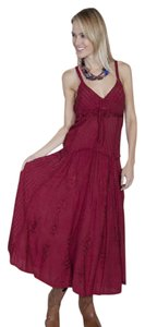 Burgundy Maxi Dress by Scully