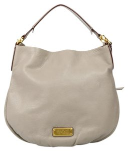 Marc by Marc Jacobs Gray Leather Hobo Bag