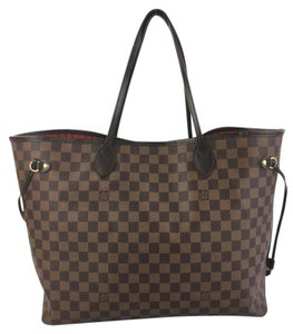 Louis Vuitton Damier Canvas Neverfull Neverfull Gm Tote in Damier Ebene
