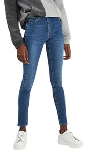 Topshop Leigh Skinny Leigh Skinny Jeans-Medium Wash