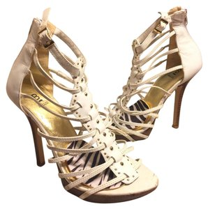 Bakers White/Gold Sandals