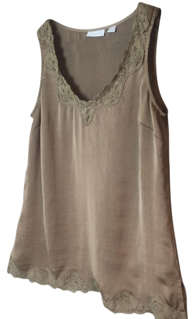 Preload https://img-static.tradesy.com/item/21358376/new-york-and-company-co-beige-with-lace-detail-xs-tank-topcami-size-2-xs-0-1-650-650.jpg