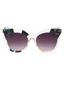 Other Multicolor Clear Sunglasses