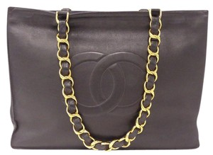 Chanel Paris Made In France Tote in Black