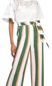 Gracia Wide Leg Pants Multi colored