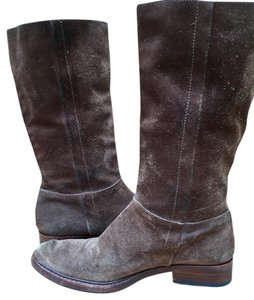 Gunex Leather Tall Suede brown Boots