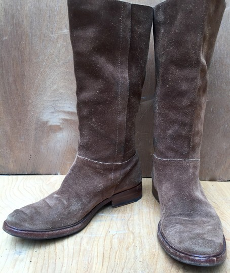Gunex Leather Tall Suede brown Boots Image 1