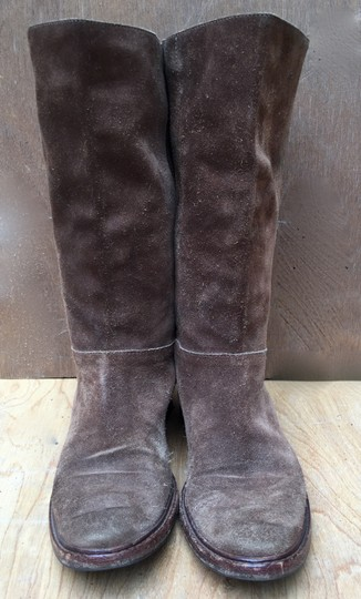 Gunex Leather Tall Suede brown Boots Image 2