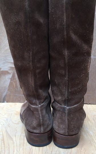 Gunex Leather Tall Suede brown Boots Image 3