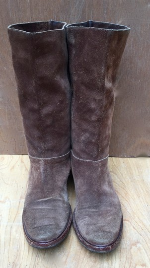 Gunex Leather Tall Suede brown Boots Image 4