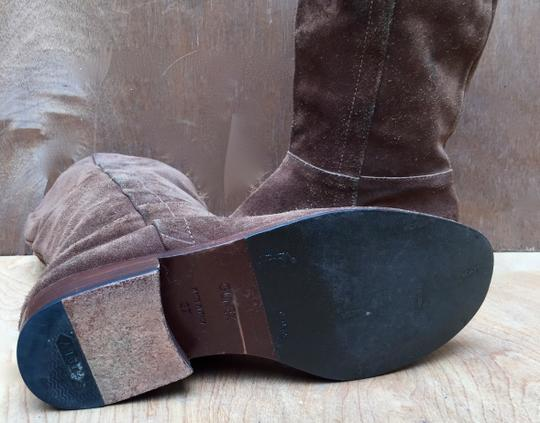 Gunex Leather Tall Suede brown Boots Image 7