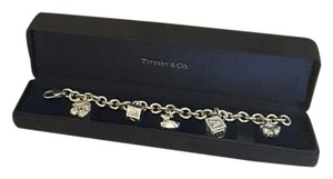 Tiffany & Co. Authentic Tiffany & Co Sterling Silver Baby Charm Bracelet with Presentation Box