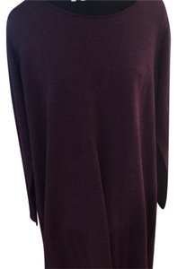 Eileen Fisher short dress plum on Tradesy