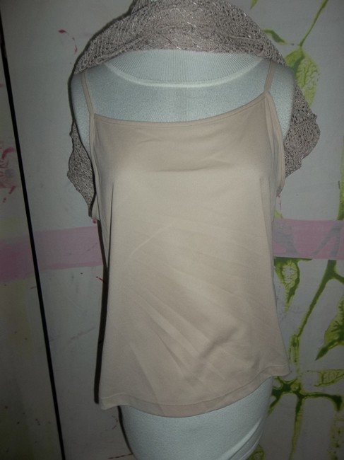 Notations No Tags Polyester 2 Pieces Lacey Top tan Image 2