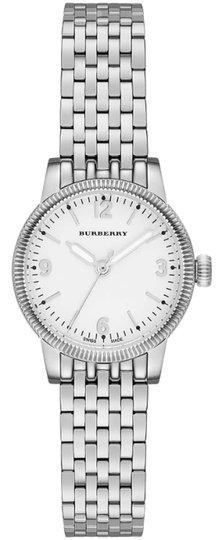 Burberry Burberry Women's The Utilitarian White Dial Stainless Steel 30mm