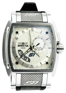 Invicta * 6220 S1 Collection GMT Stainless Steel and Rubber Watch