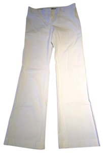 Express Boot Cut Pants white pin stripe