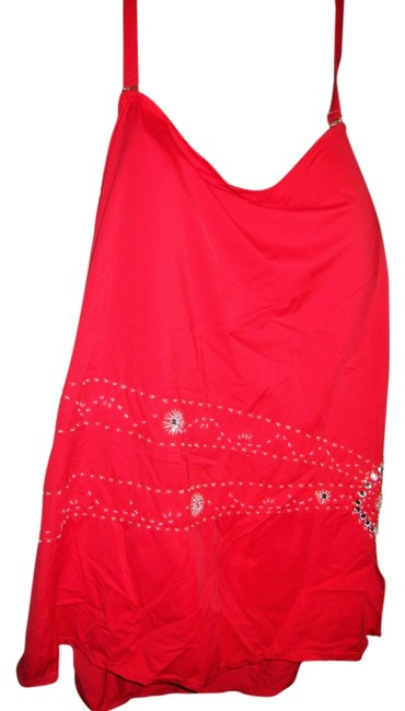 Item - Red One-piece Bathing Suit Size 24 (Plus 2x)