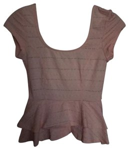 Lucca Couture Top blush pink