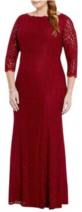 Adrianna Papell Gown Lace Dress