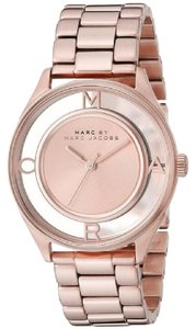Marc by Marc Jacobs Women's MBM3414 'Thether' Rose-Tone Stainless Steel Watch