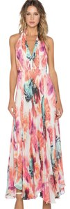 Floral - ABSTRACT PIGMENT Maxi Dress by Alice + Olivia + Maxi Chic Wedding