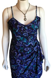 LC Lauren Conrad short dress Black, Blue and Teal on Tradesy