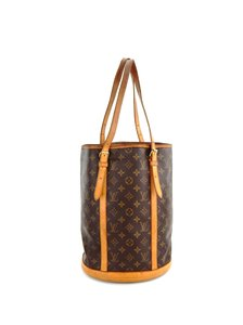 Louis Vuitton Monogram Leather Bucket Shoulder Bag