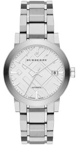 Burberry Burberry Unisex Swiss Automatic The City Stainless Steel Watch 38mm
