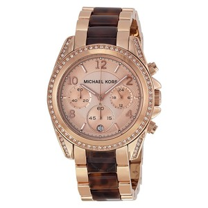 6cee9c89bd66 Michael Kors Michael Kors MK5859 Blair Rose Dial Ladies Watch in Rose Gold