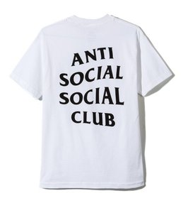 Anti Social Social Club Fashion Hype Street High Street T Shirt white